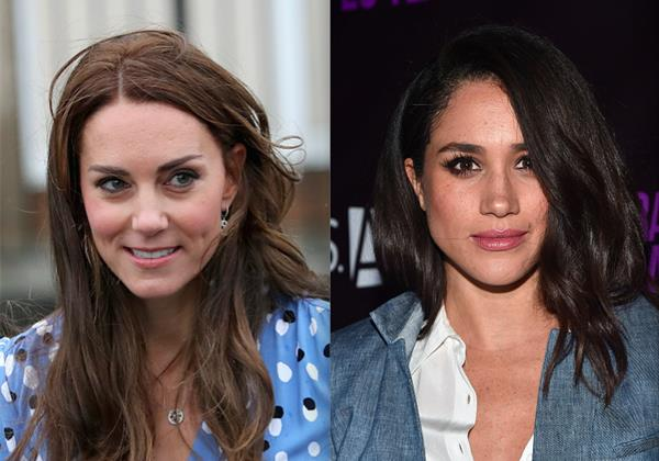 Le differenze tra Kate e Meghan